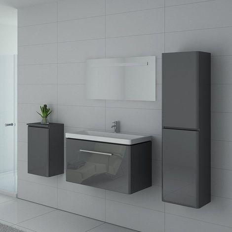 Meuble de salle de bain SORRENTO Gris Taupe