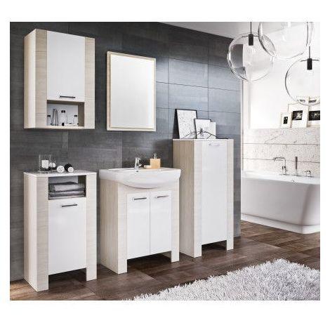Meuble de salle de bain TALIA blanc 60cm - Blanc