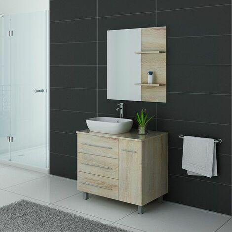 Meuble de salle de bain TOSCANE Scandinave