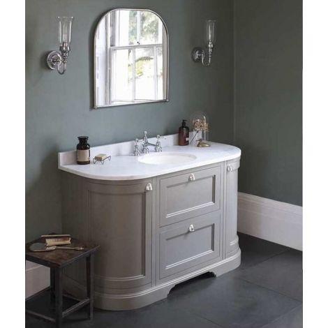 Meuble de salle de bain traditionnel simple vasque Olive ...