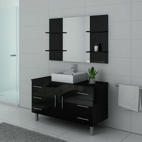 Meuble de salle de bain TURIN Noir