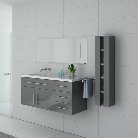 Meuble de salle de bain URBAN Gris Taupe