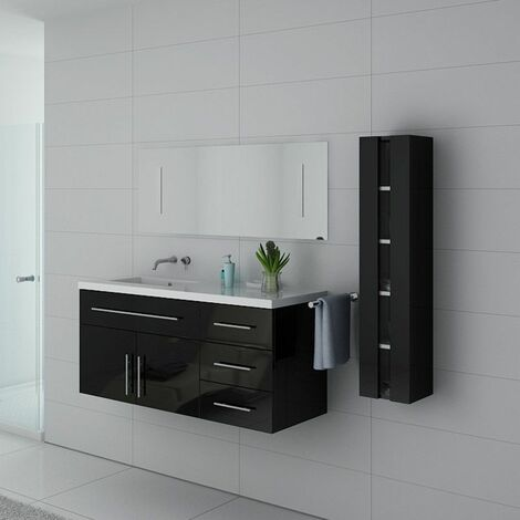 Meuble de salle de bain URBAN Noir