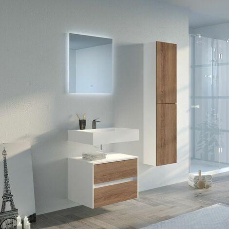 Meuble de salle de bain VISENZA 600 SV-B