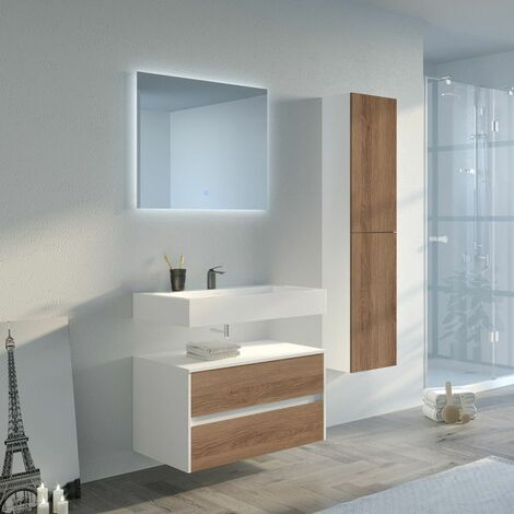 Meuble de salle de bain VISENZA 800 SV-B