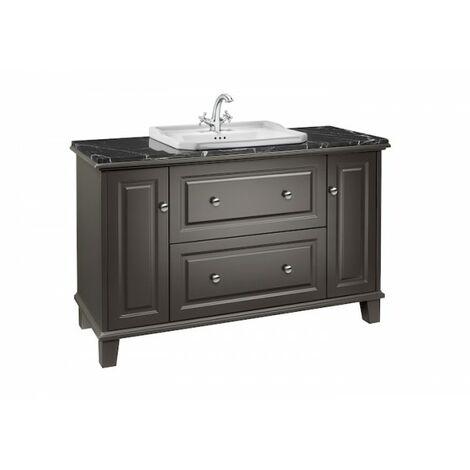 Meuble de salle de bains pour vasque à encastrer Gris CARMEN - ROCA A857136417