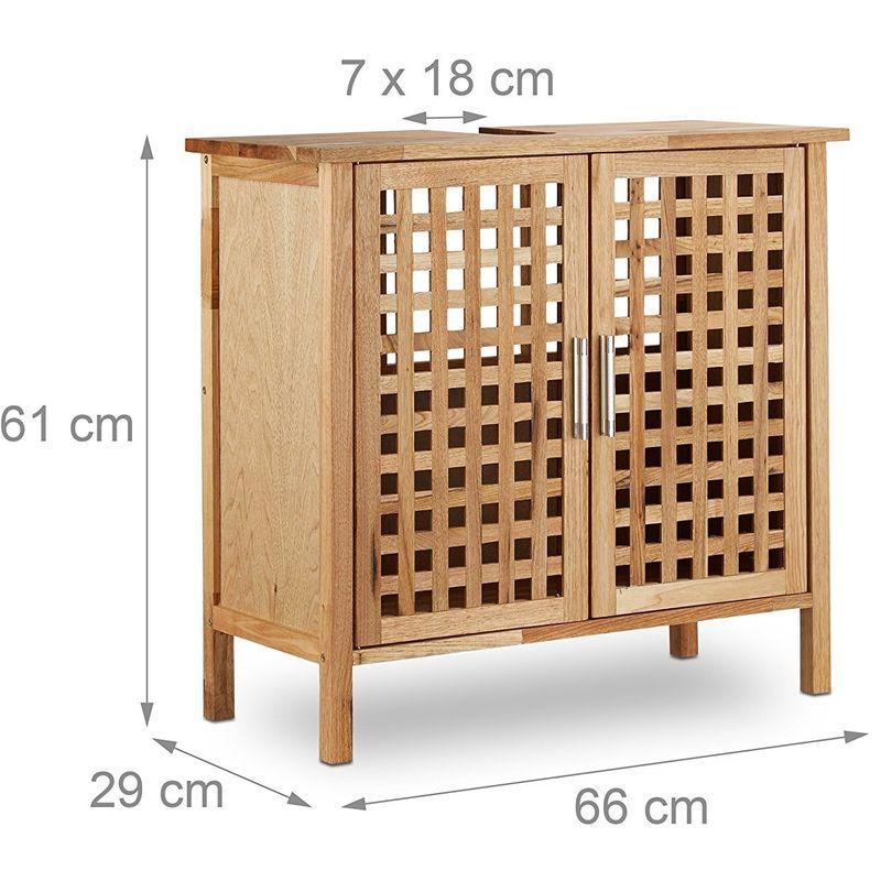 meuble dessous de lavabo ou vier salle de bain en bois de. Black Bedroom Furniture Sets. Home Design Ideas