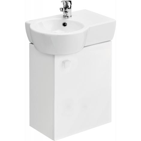 Meuble gain de place + vasque