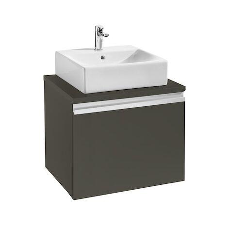 Meuble HEIMA 600 1 tiroir pour 1 vasque à poser - Frêne