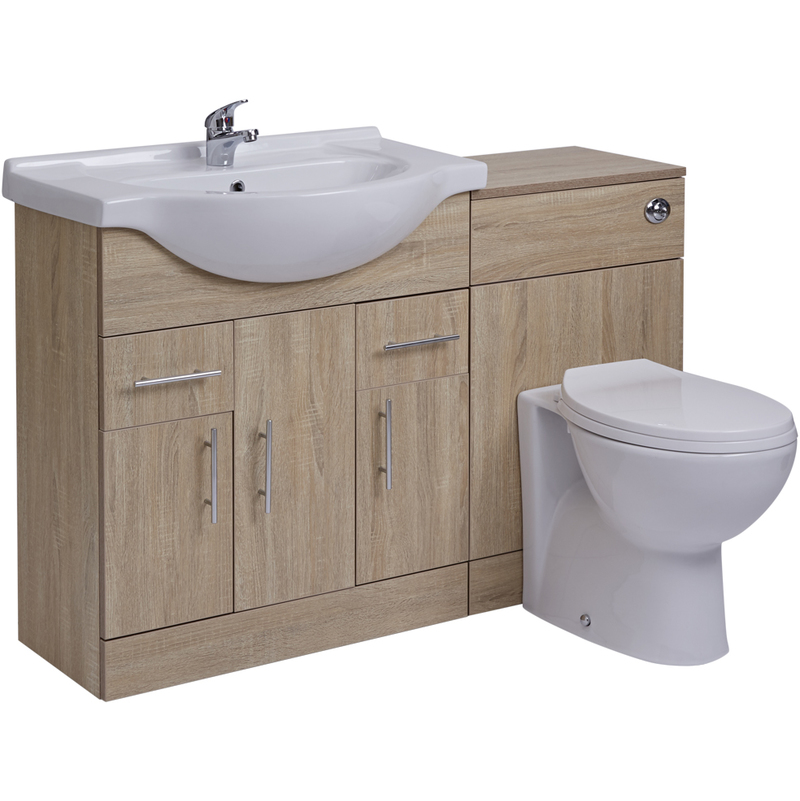 Meuble Lavabo Toilette Wc 75x78x48cm Gou75 1