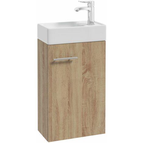 Meuble lave-mains MIKE PACK 40 x 68 x 22 cm - Allibert