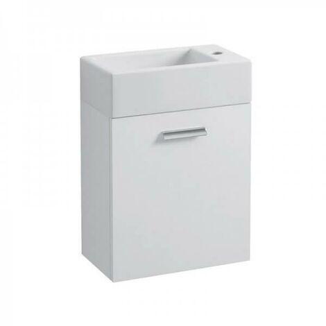 Meuble Lave-mains rectangulaire à suspendre HOX MINI 25/45/60 BLANC - CRISTINA ONDYNA MS5251B