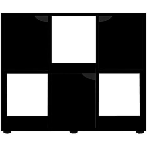 Meuble pour terrarium Karapas 100 Noir - Noir