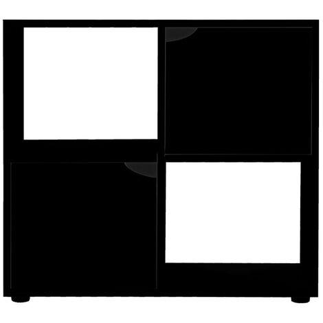 Meuble pour terrarium Karapas 80 Noir - Noir