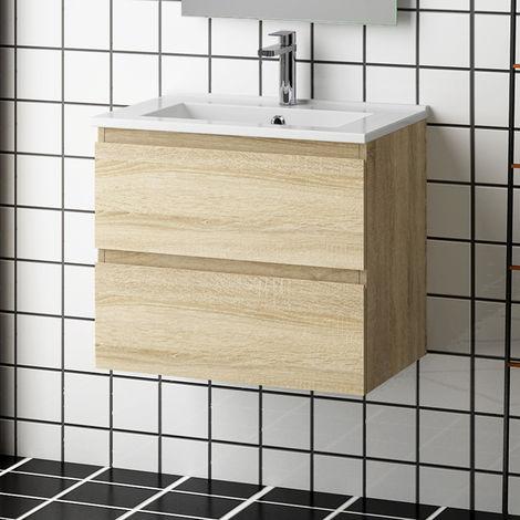 """main image of """"Meuble salle de bain meuble suspendu avec la vasque plusieurs modéles"""""""