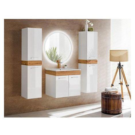Meuble salle de bain Alma - Blanc