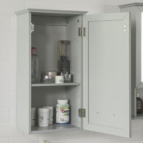 Meuble Salle de Bain Armoire Suspendue de Toilettes Placard BZR10-HG SoBuy®