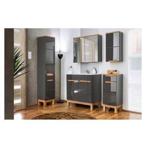 Meuble salle de bain BUENO Noir