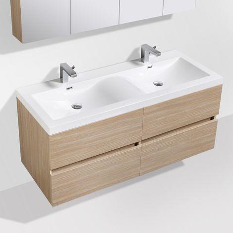 meuble salle de bain design double vasque siena largeur. Black Bedroom Furniture Sets. Home Design Ideas