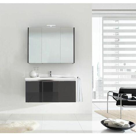 Meuble salle de bain ENOVI Serie MBH Tranche écru