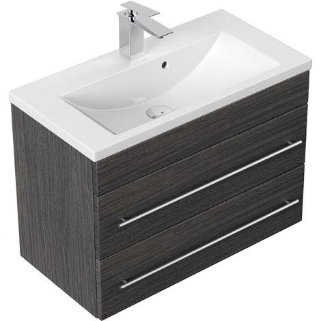 Meuble salle de bain Mars 700 SlimLine Charbon antique