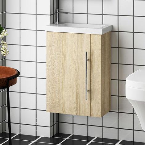 Meuble salle de bain meuble suspendu avec la vasque plusieurs modèles