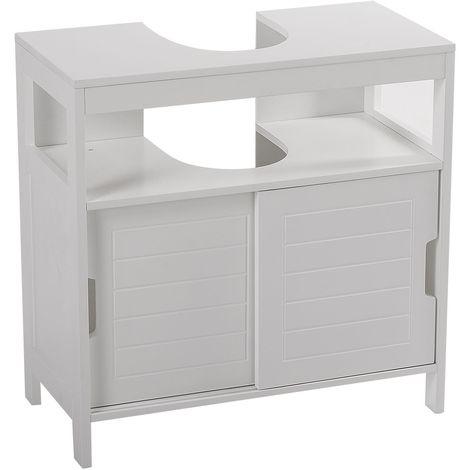 Meuble sous lavabo Aqua - 30 x 60 cm - Blanc