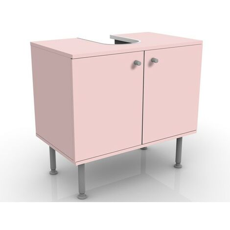 Meuble sous vasque Colour Rose 60x55x35cm Dimension: 55cm x 60cm