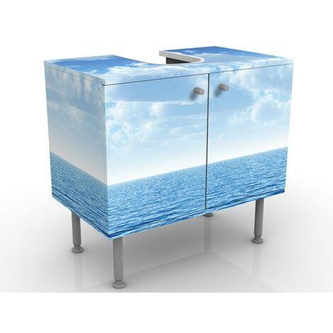 Meuble sous vasque Shining Ocean 60x55x35cm Dimension: 55cm x 60cm