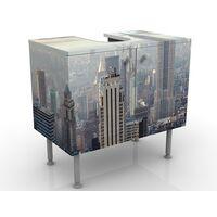 Meuble sous vasque Sunrise In New York 60x55x35cm Dimension: 55cm x 60cm