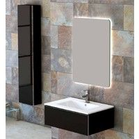 8ccb8c27bb291 Meuble Suspendu Salle de Bain Duo 70 Version 2