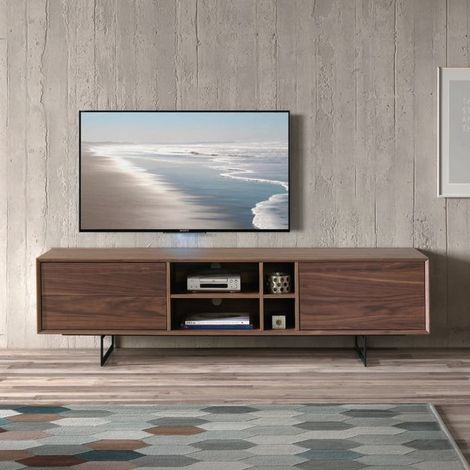 Meuble TV ultra design 180x42x50 cm par Zendart Design - Intérieur