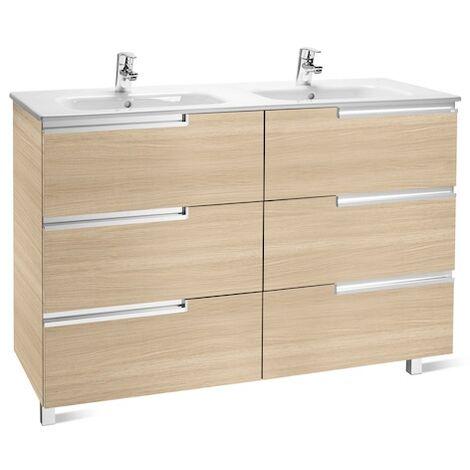 Meuble Unik VICTORIA-N Family 1200 - meuble + lavabo - Gris anthracite