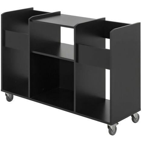 Meuble vinyles mobile Chicago - Fabrication Française - CaliCosy