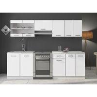 Meubles Cuisine complète DANA laqué - 2m40 - 7 meubles