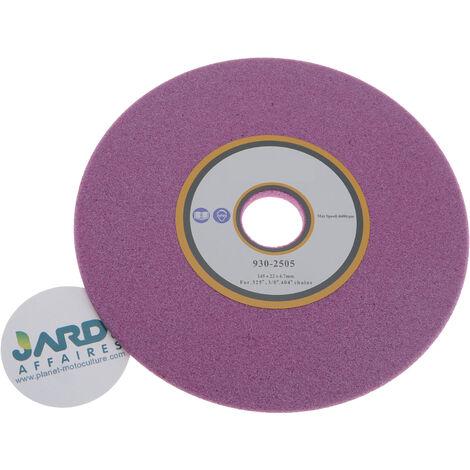 Meule 145x22,2x4,7mm pour affuteuse de chaîne Pas 325, 3/8 et 404