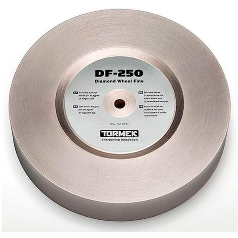 Meule à eau diamantée D. 250 x 50 mm grain fin Gr. 600 pour T8 et T7 - Tormek - DF-250 - -