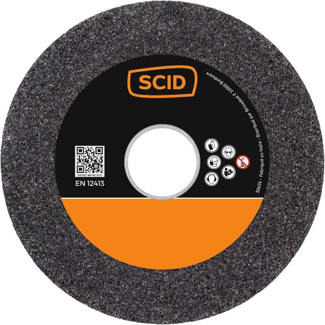 Dimensions 200 x 20 x 32 mm Meules affûtage carbure de silicium SCID