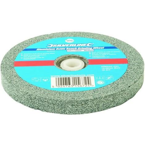 Meule corindon pour touret à meuler 125 x 13 mm - Grain moyen