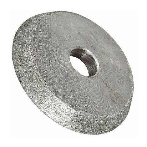 """main image of """"Meule diamant D. 80 x Ep. 13 x Al. 18 mm pour affûteuse de forets - Diamwood"""""""