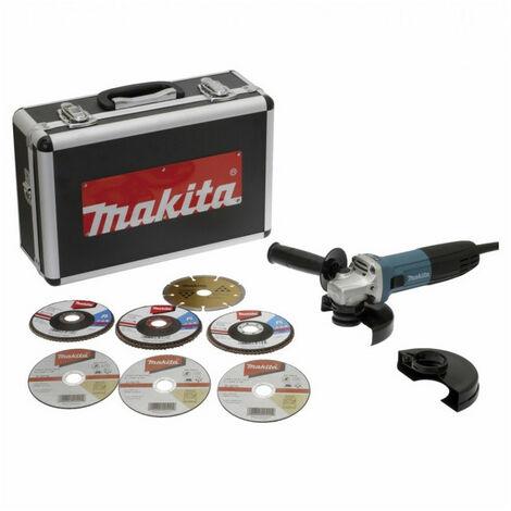 Meuleuse angulaire 720W Ø125mm + kit d'accessoires GA5030RSP6 MAKITA