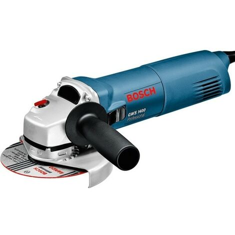 Meuleuse angulaire BOSCH 1400W GWS 1400 125MM - 0601824800 - cpty