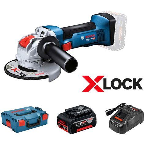 Meuleuse Bosch GWX 18V-10 5Ah X-LOCK