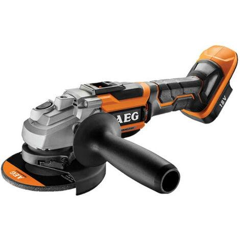 Meuleuse brushless AEG 18V 125mm - sans batterie ni chargeur BEWS18 125BL-0