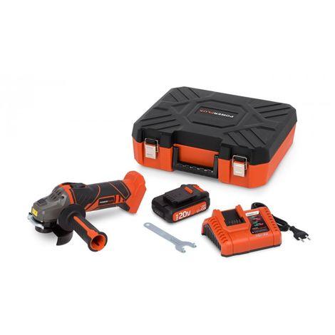 Meuleuse d-angle 20V + Chargeur + Batterie 20V