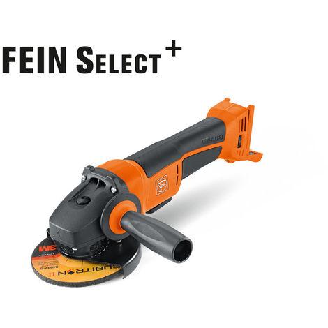 Meuleuse d'angle CCG 18-125 BLPD Select FEIN - sans batterie ni chargeur - en coffret - 71200462000