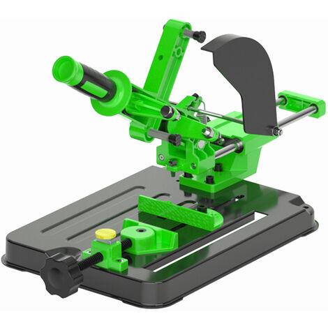 Meuleuse D'Angle Fixe Support Universel Polisseuse Conversion Machine De Decoupe Scie A Table Multifonction De Bureau Pull Rod Angle Rectifieuse Support Pour 100 Et 125 Angle Grinder