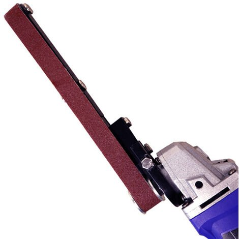 Meuleuse d'angle modele 100 machine a courroie modifiee Mini machine a courroie Outil de modification pratique polyvalent