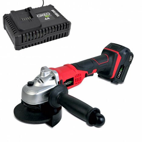 Meuleuse d'angle sans fil 18V Easy Full avec batterie et chargeur