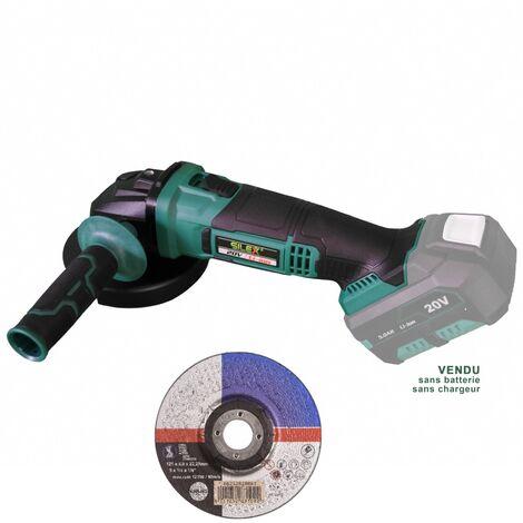 Meuleuse d'angle sans fil 20V Silex® sans batterie
